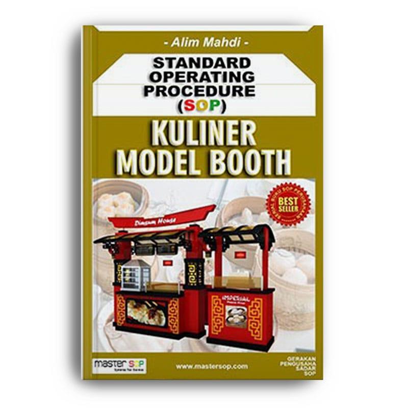 Contoh SOP Kuliner Model Booth